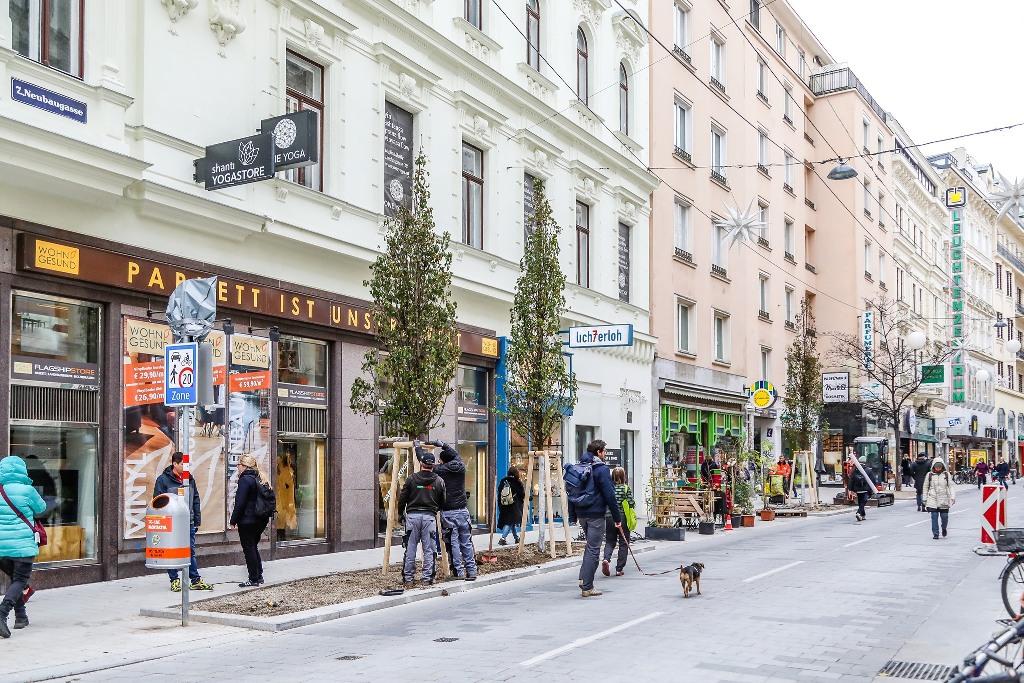 Jahresrückblick 2020: Die Umgestaltung der Neubaugasse in Wien war eine Großleistung aller Beteiligten.