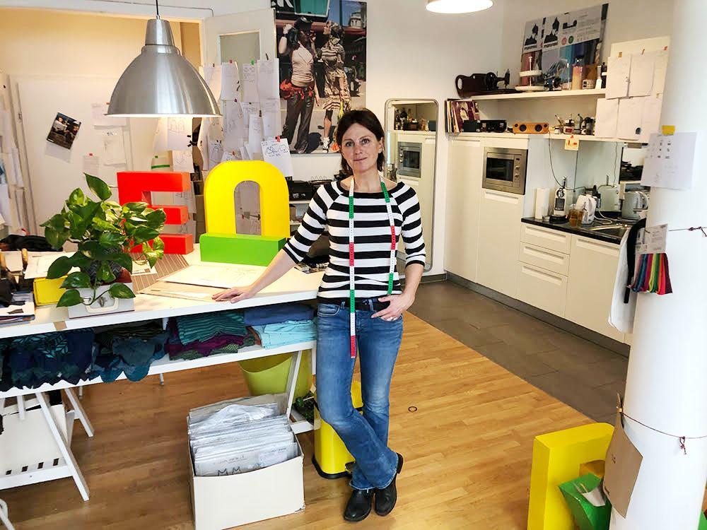Martina Meixner hat das Wiener Modelabel maronski in der Neubaugasse gegründet