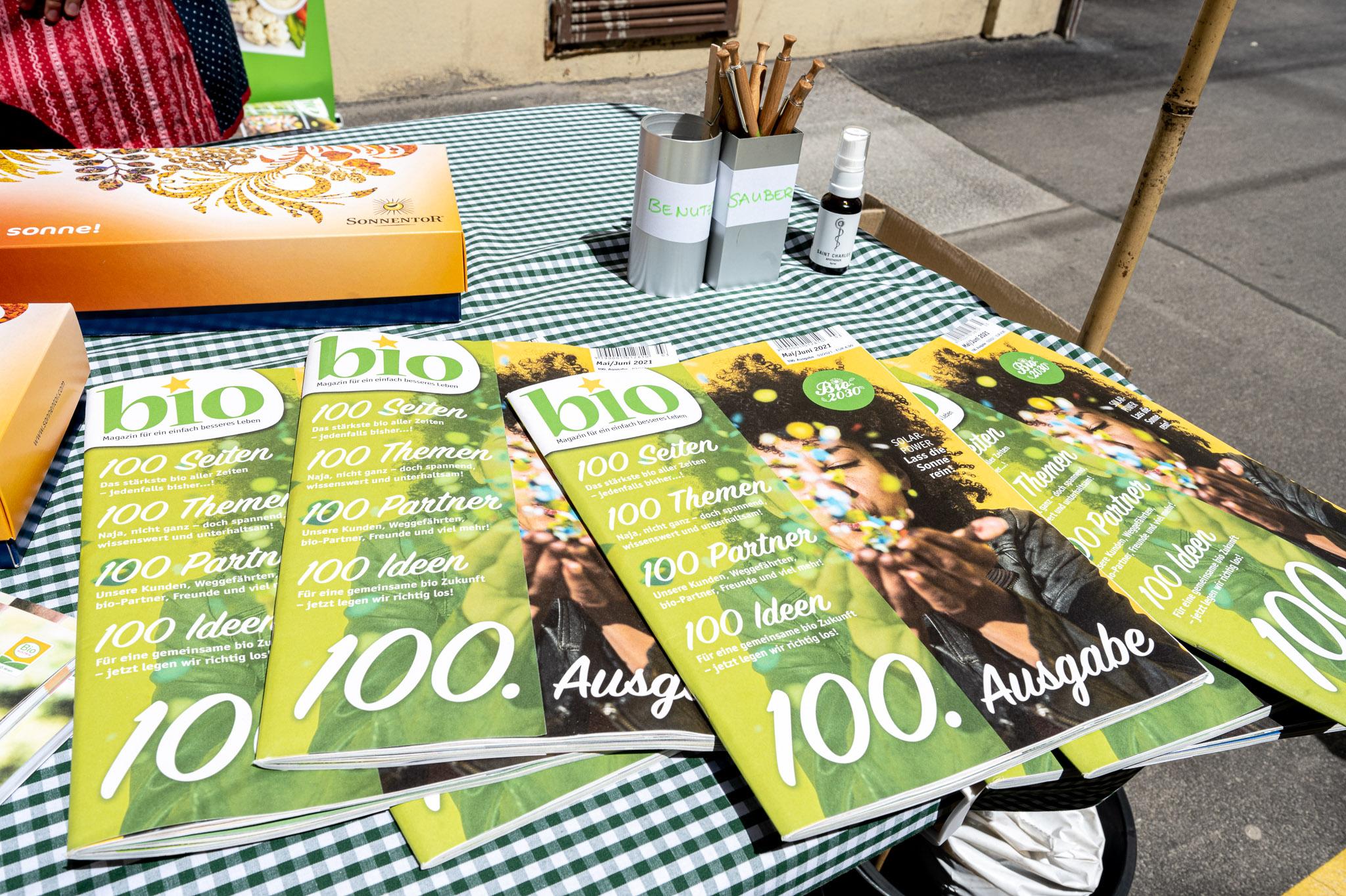 100. Ausgabe Bio Magazin – ©Michaela Krauss-Boneau