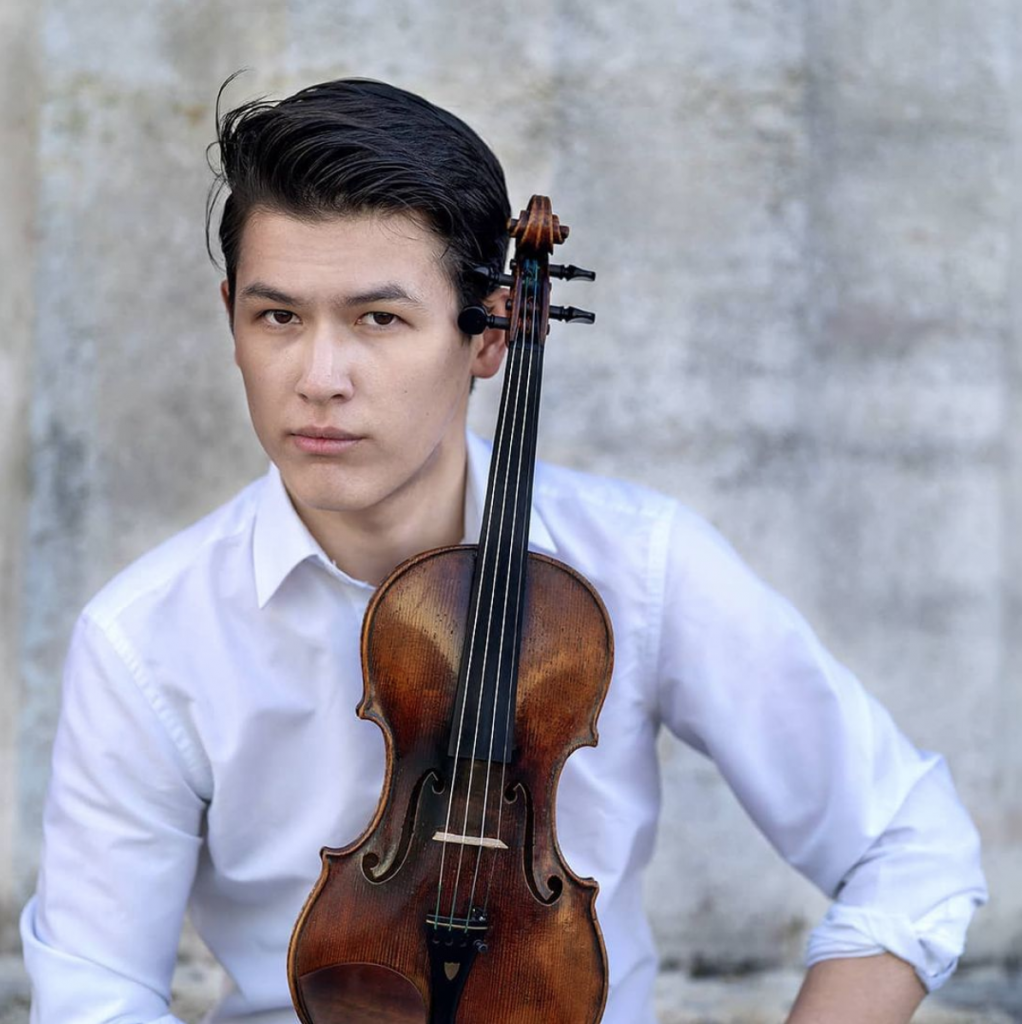 Violine mit Yera Khamit Neubaugasse
