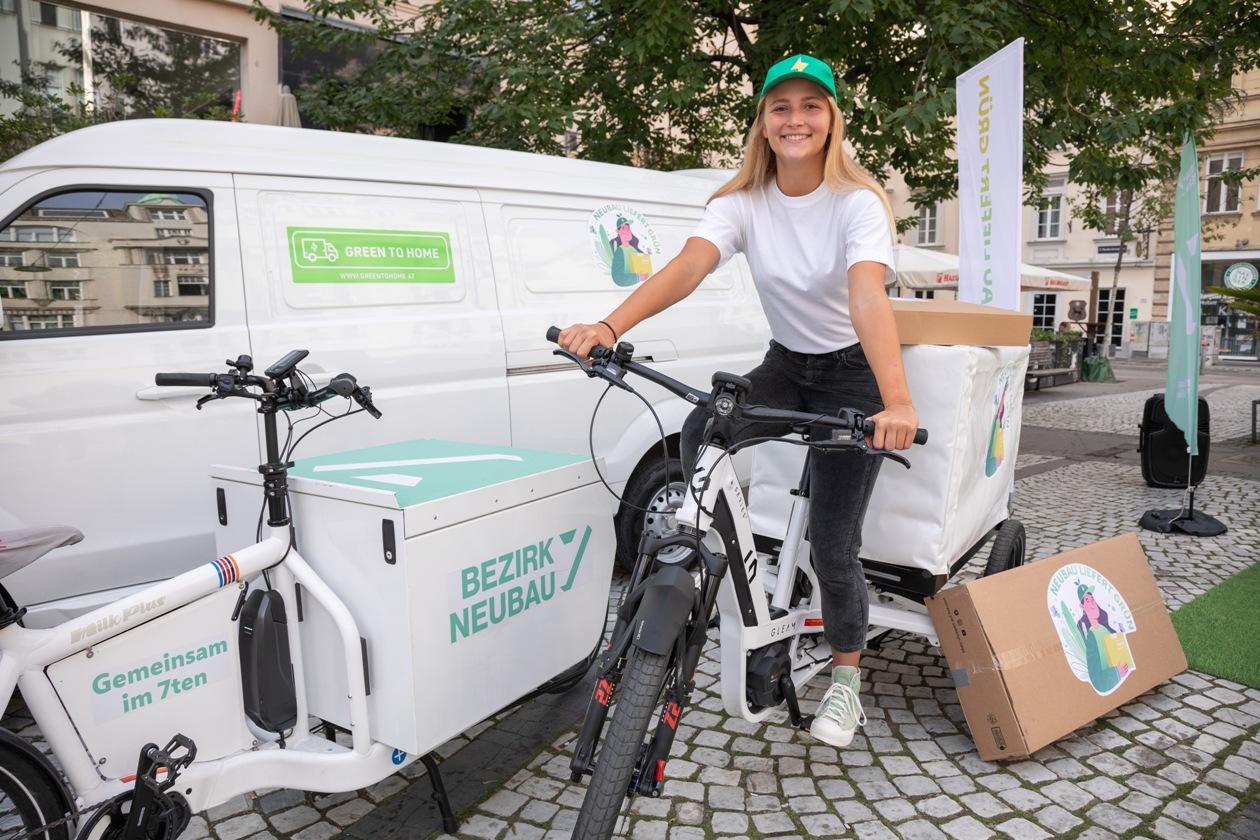 Das zukunftsorientierte Paketzustellprojekt Neubau liefert grün zeigt, wie nachhaltige Zustellung funktionieren kann.